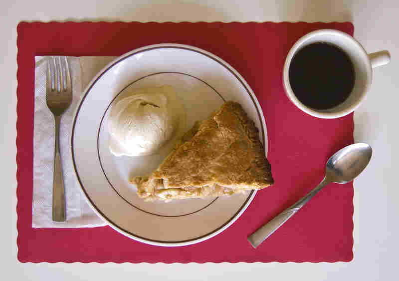 """I ate apple pie and ice cream — it was getting better as I got deeper into Iowa, the pie bigger, the ice cream richer."" (On the Road)"