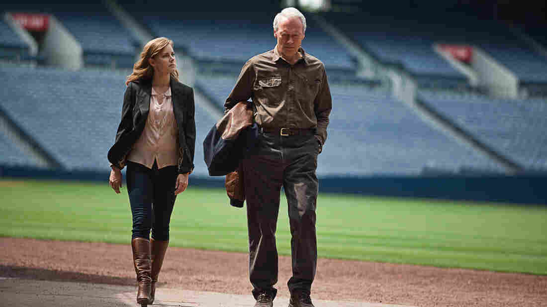 Mickey (Amy Adams), a successful lawyer, reluctantly hits the road to assist her father (Clint Eastwood), an Atlanta Braves baseball scout whose eyesigh