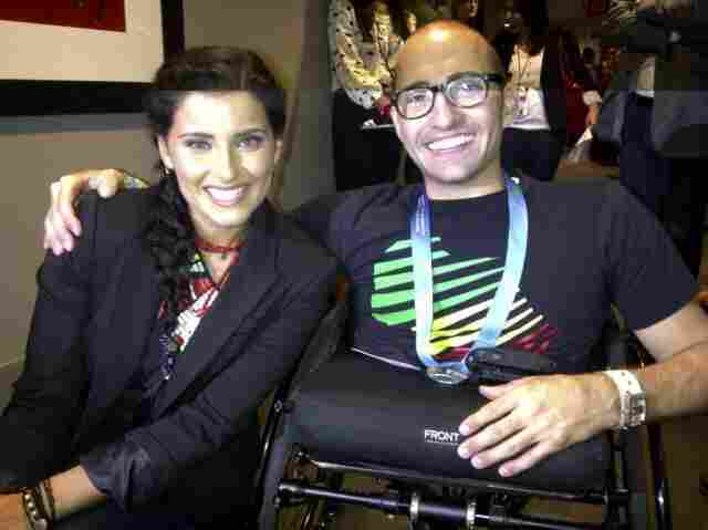 Nelly Furtado with Spencer West