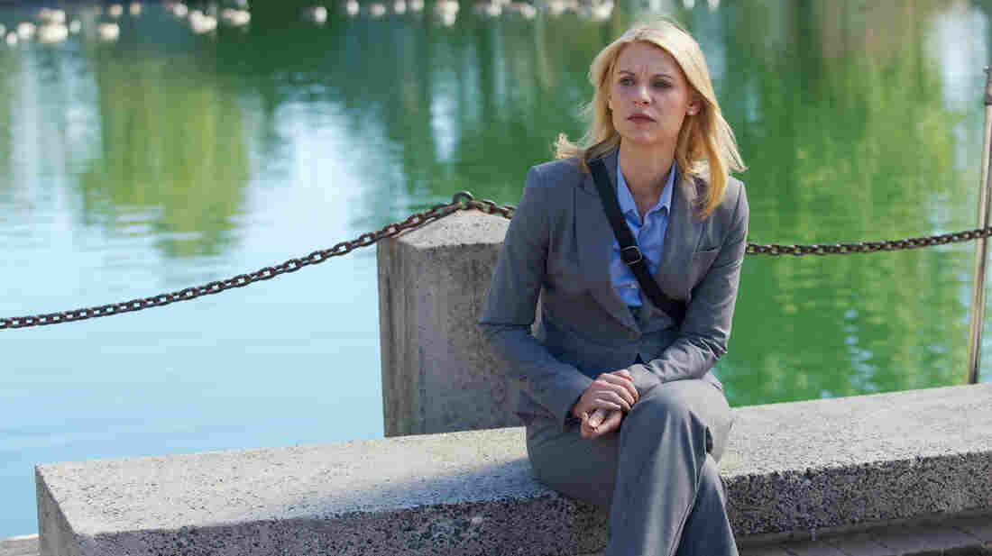 Claire Danes plays Carrie Mathison in Showtime's Homeland. The second season premieres on Sept. 30.