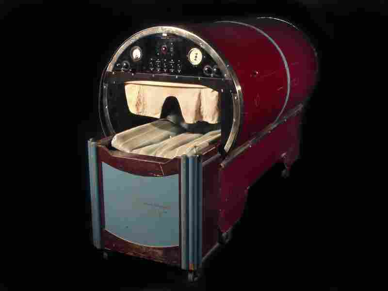 The McGregor Rejuvenator. M.E. Montrude, Jr., the maker of this 1932 device, claimed that by using magnetism, radio waves and ultraviolet rays, the rejuvenator could reverse the aging process.