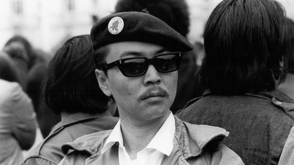"Richard Aoki was known as the ""minister of education"" for the Berkeley, Calif., chapter of the Black Panther Party. (Courtesy of Nancy Park)"