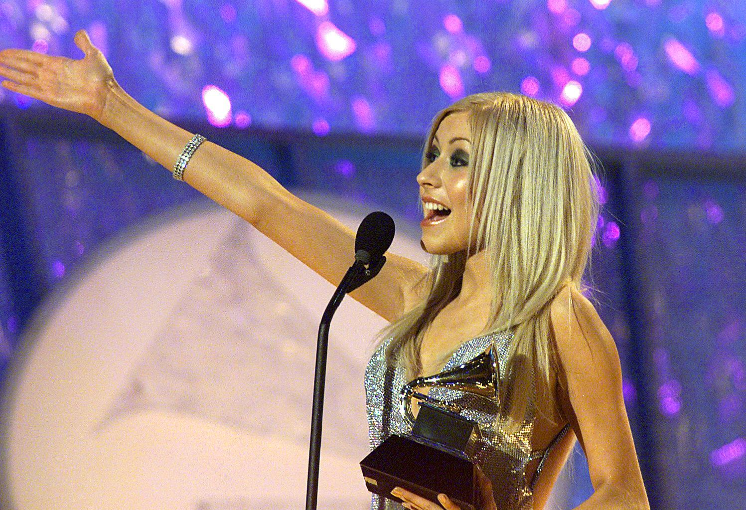 In 2000, Christina Aguilera won an Best New Artist Grammy.