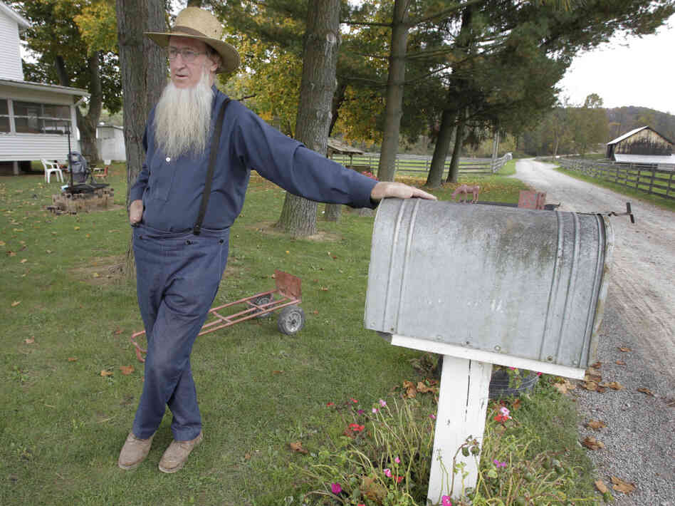 Samuel Mullet outside his home in Bergholz, Ohio, in 2011.