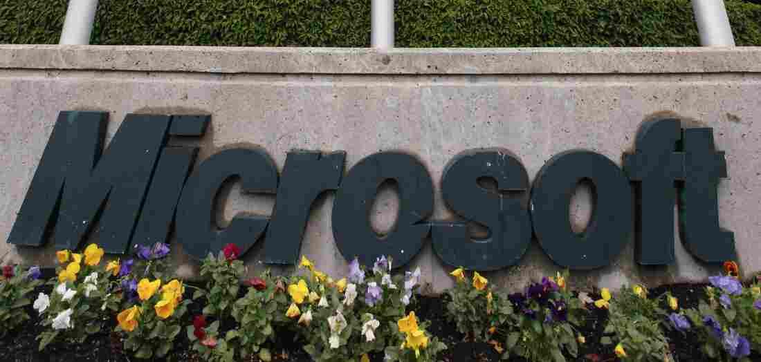 Microsoft headquarters in Redmond, Wash.
