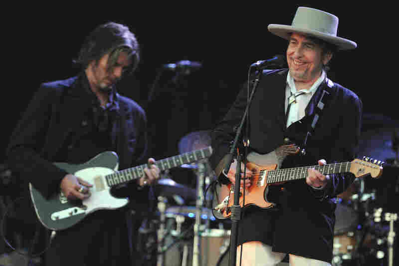 Bob Dylan, on stage in France this July, has long been a legend, but he has spent much of his career tweaking his musical legacy.