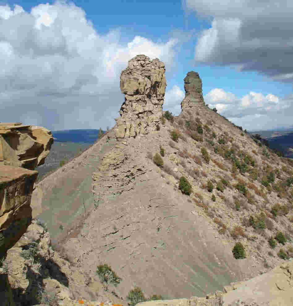 Chimney Rock, in southwestern Colorado.