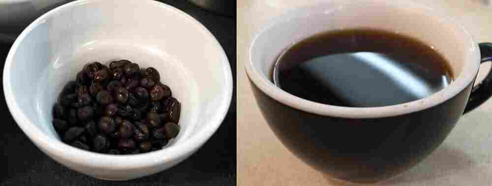 The baristas at Chinatown Coffee in Washington, D.C., were suspicious of the dark color of the beans, but pleased with the taste.