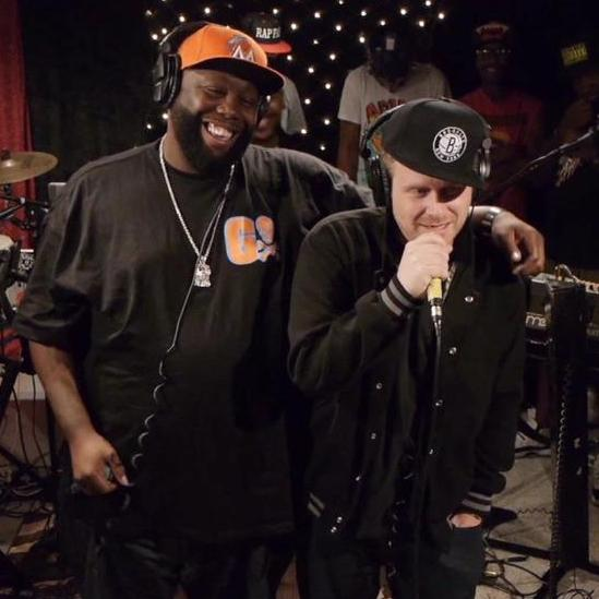 Killer Mike, El-P and friends in studio at KEXP.