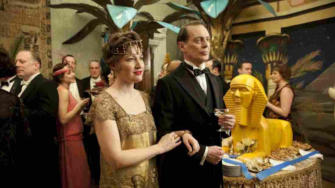 "In Boardwalk Empire, Margaret Schroeder (Kelly Macdonald) is married to corrupt political boss ""Nucky"" Thompson (Steve Buscemi.)"