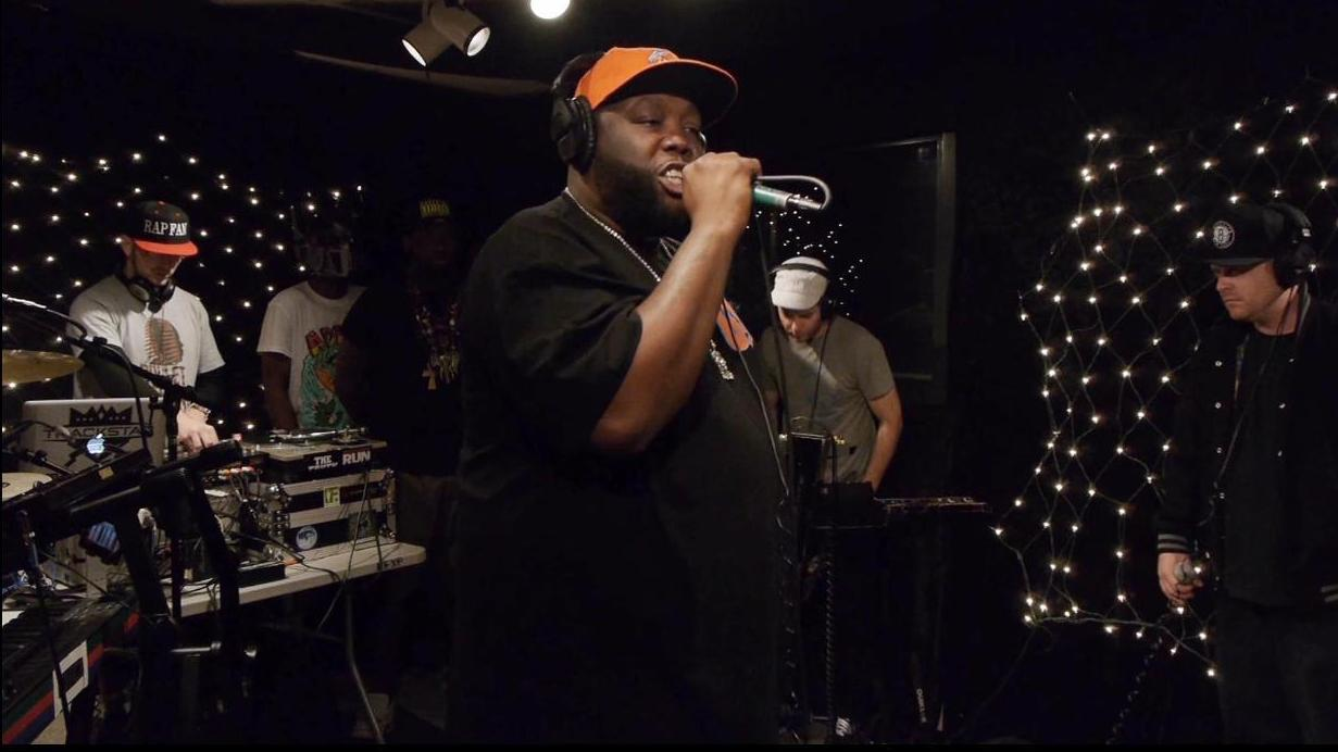 Killer Mike performs in the KEXP studios.