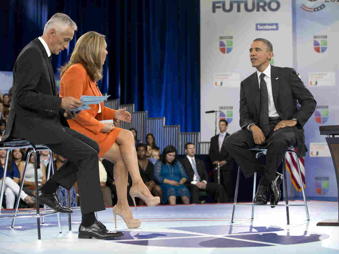 President Obama got few if any softball questions when he had his turn at a Univision forum for the two major-party presidential candidates.