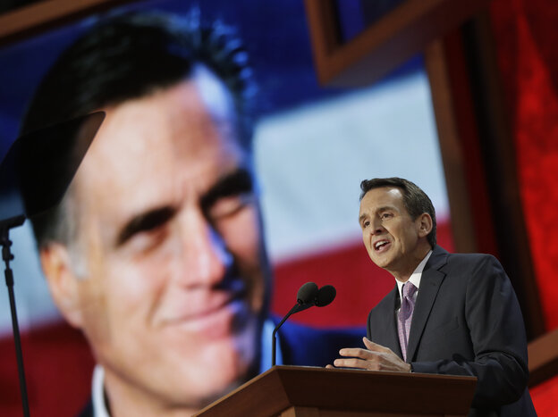 Tim Pawlenty at the 2012 Republican National Convention in Tampa, Fla.