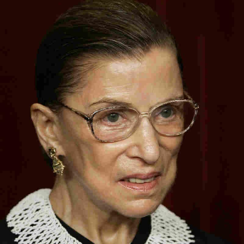 Associate Justice Ruth Bader Ginsburg.
