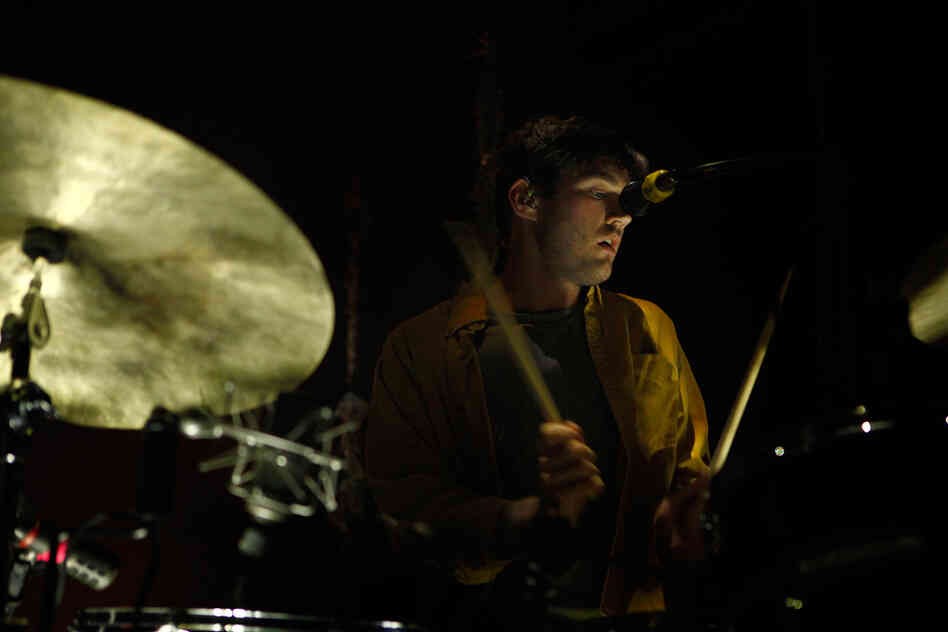 Drummer Christopher Bear has been with the group since it released its first album, Horn Of Plenty, in 2004. Shileds is Grizzly Bear's fourth full-length.