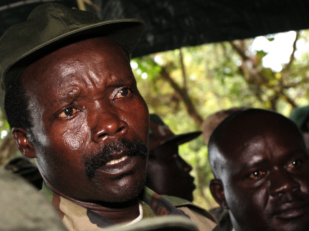 Joseph Kony, leader of the Lord's Resistance Army, has waged an uprising against Museveni's government for more than two decades. Kony's forces, linked to many atrocities, are far less active today. He is being pursued by several nations in the region, with assistance from the U.S.