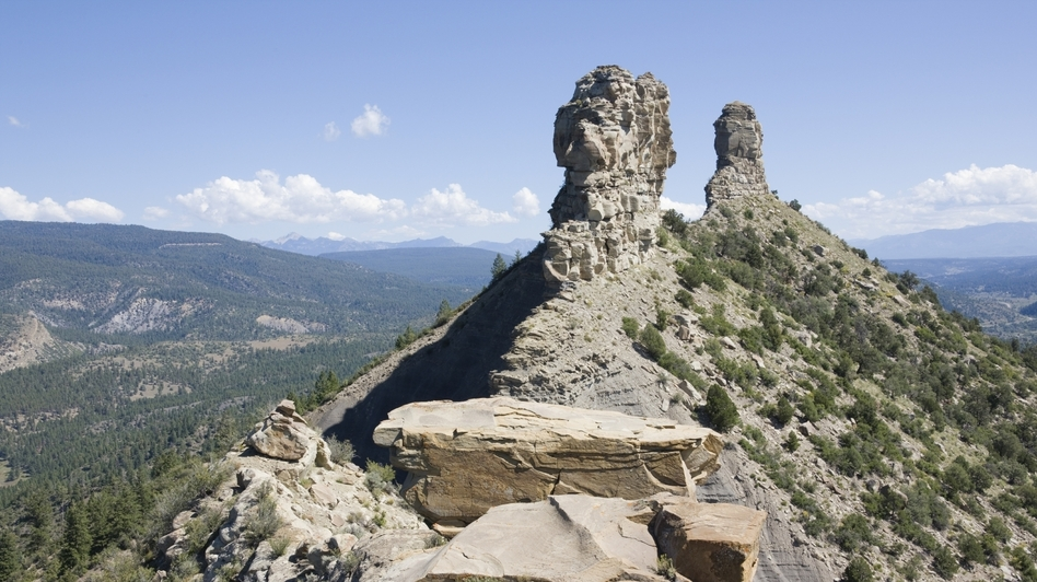 A large sandstone feature in southwestern Colorado, Chimney Rock became America's newest national monument on Friday. (iStockphoto.com)