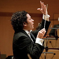 Los Angeles Philharmonic music director Gustavo Dudamel is leading the orchestra in Stravinsky's iconic Rite of Spring and the world premiere of a Stephen Stucky symphony.