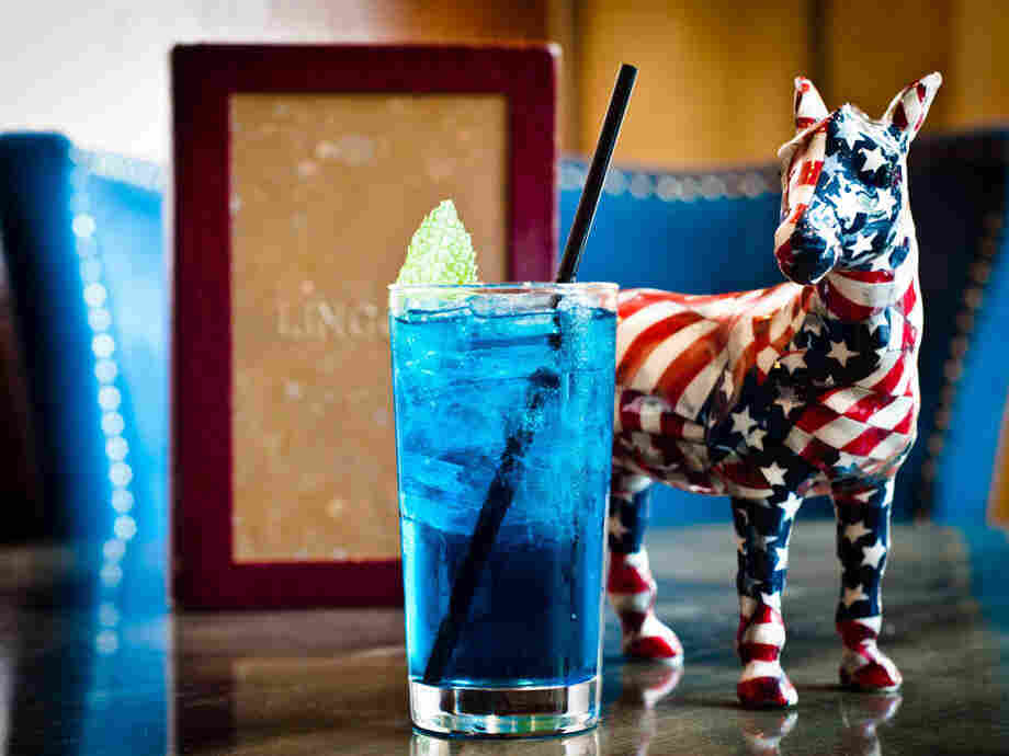 The Donkey cocktail is leading in the polls so far at Lincoln, a restaurant in Washington, D.C.