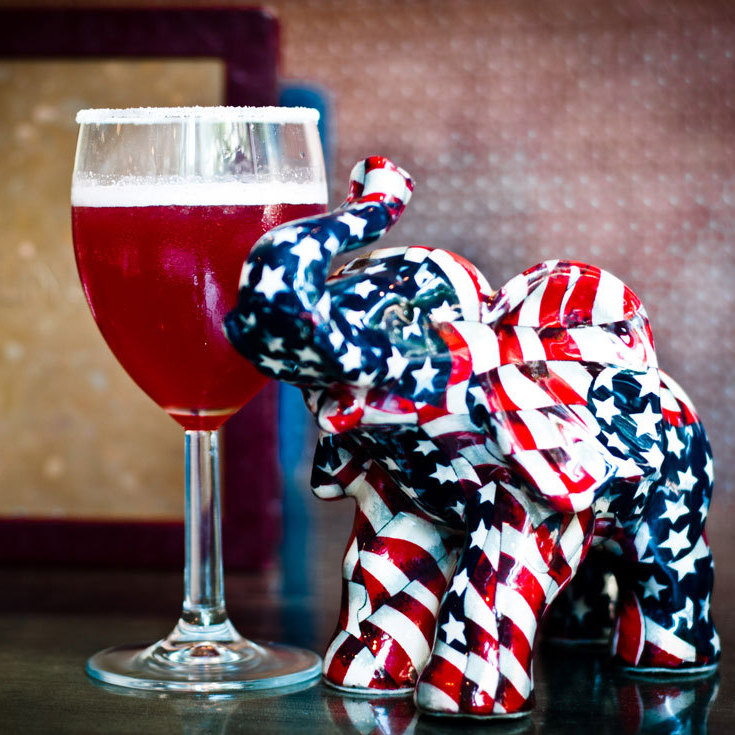 So far, the Elephant cocktail is the runner-up at Lincoln.