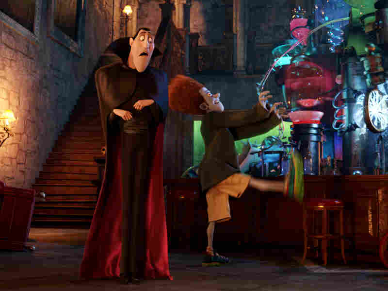 Dracula teaches Johnny (Andy Samberg), a human, how to be a master monster.