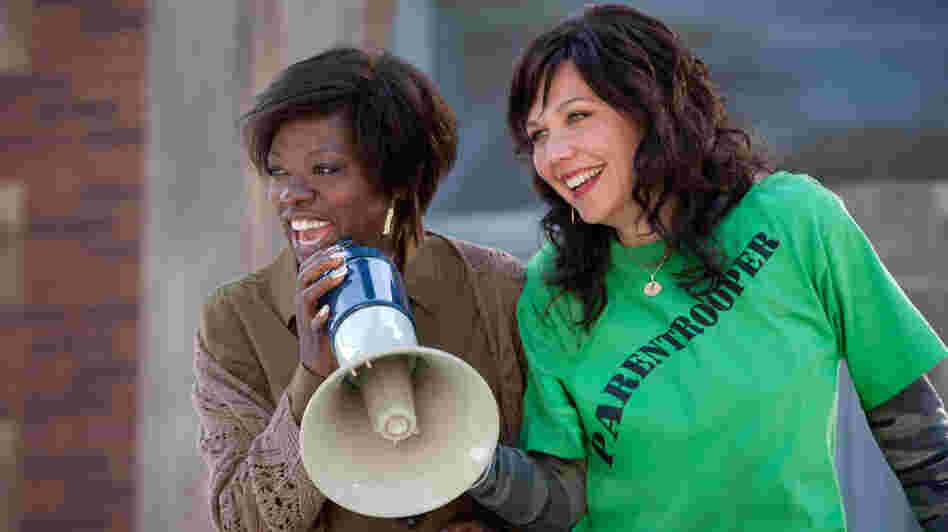 Nona (Viola Davis), a well-meaning teacher, teams up with warrior mom Jamie (Maggie Gyllenhaal) to fix the education system that failed their children.