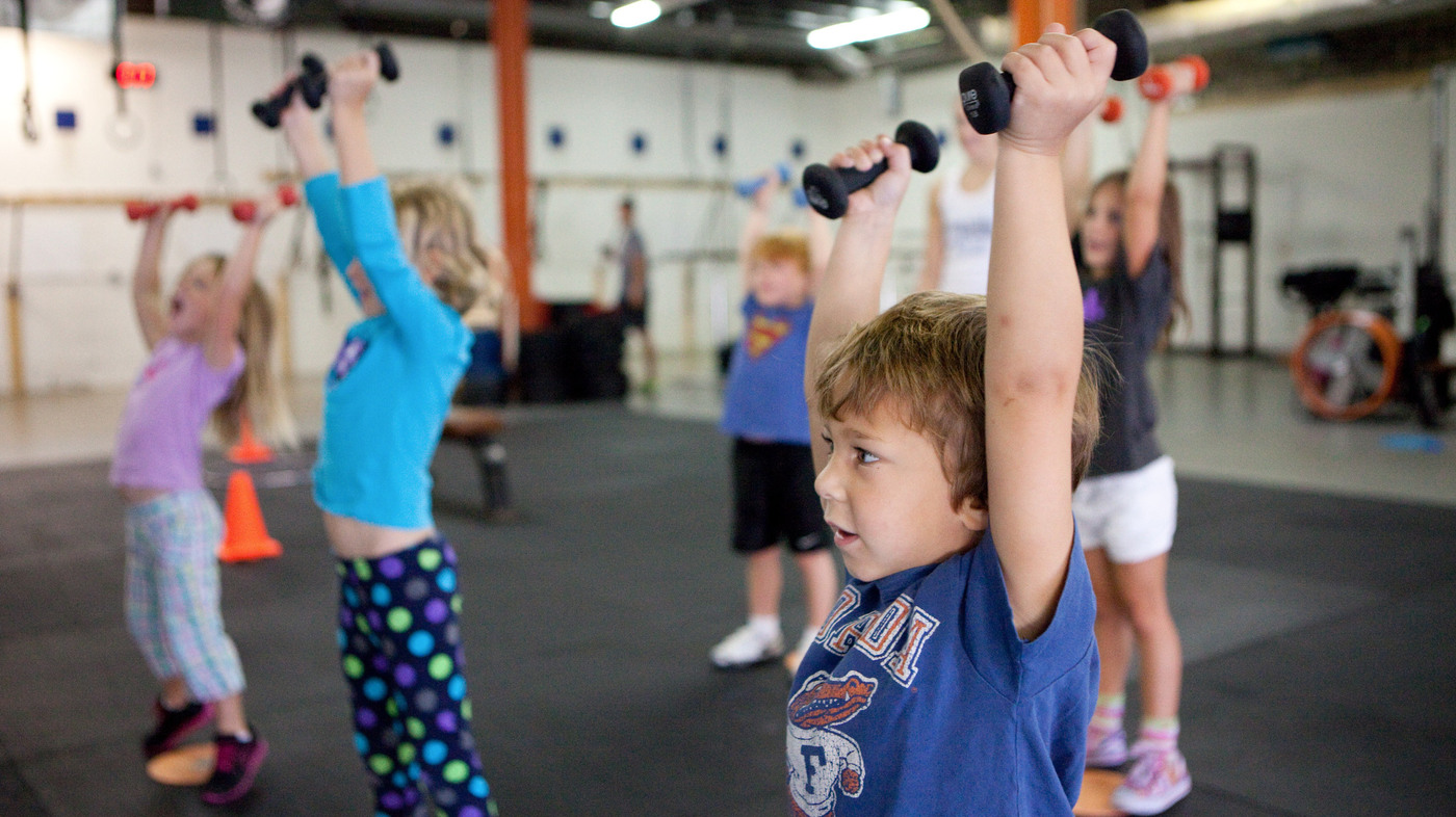 Is CrossFit Training Good For Kids? : Shots - Health News : NPR