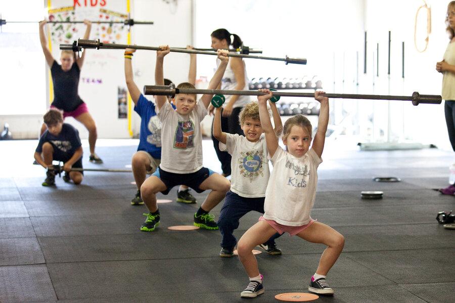 子どもの姿勢に対する運動の効果