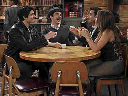 Brandon Routh, Michael Urie, David Krumholtz and Sophia Bush of Partners.