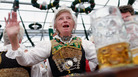 A common Oktoberfest practice is to serenade one's glass of hoppy goodness. Start learning the songs in this mix so you won't feel left out.
