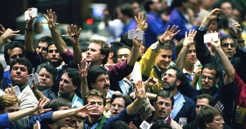 Chicago Pits Quieter But Traders Outcries Linger Npr