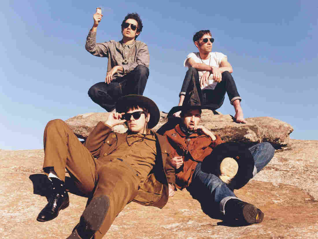 The Black Lips, not in Cairo.