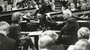 In 1997, Dave Brubeck and McPartland taped an episode of Piano Jazz live for an audience in Washington, D.C.