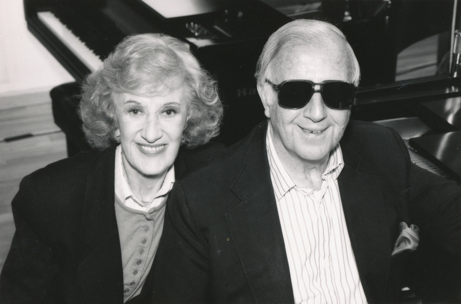 McPartland and her peer George Shearing both came to the U.S. from England to pursue jazz piano. (SCETV)