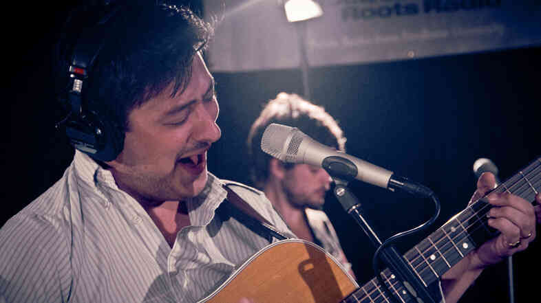 Mumford and Sons perform live at WFUV's studios in New York City.