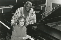 The great pianist Oscar Peterson taped an episode of Piano Jazz in 1997.