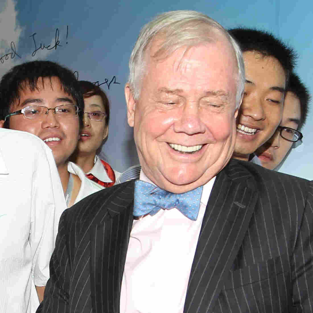 China has welcomed U.S. business expertise for many years as its economy has advanced rapidly. Jim Rogers, a prominent U.S. investor, is shown here in China at the 2nd Hunan Finance Expo in 2011. However, the Chinese are becoming more confident in their own business skills and more critical of American practices in recent years, according to U.S. business executives working in China.