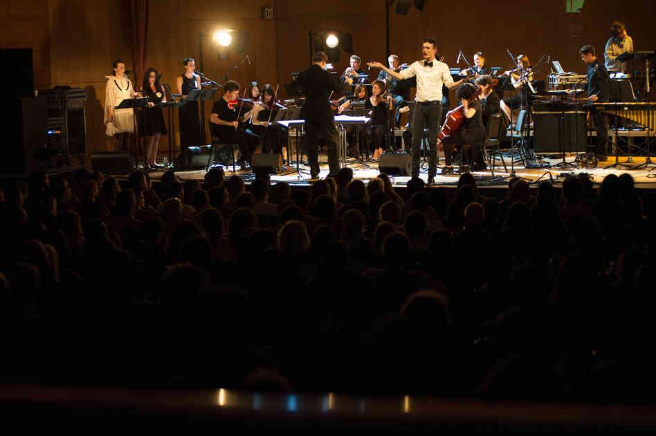 The performance featured arrangements by composers Missy Mazzoli (Kronos Quartet, Victoire), Karsten Fundal (Under Byen, Oh Land), and Daniel Bjarnason (Sigur Ros, Mum).