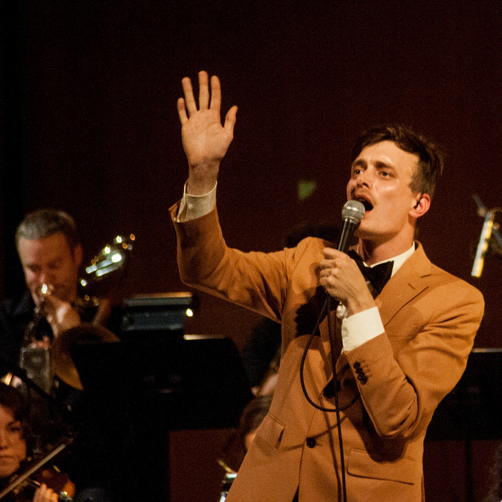 Efterklang performs with Wordless Music Orchestra at the Grace Rainey Rogers Auditorium at The Metropolitan Museum of Art on Sept. 22.