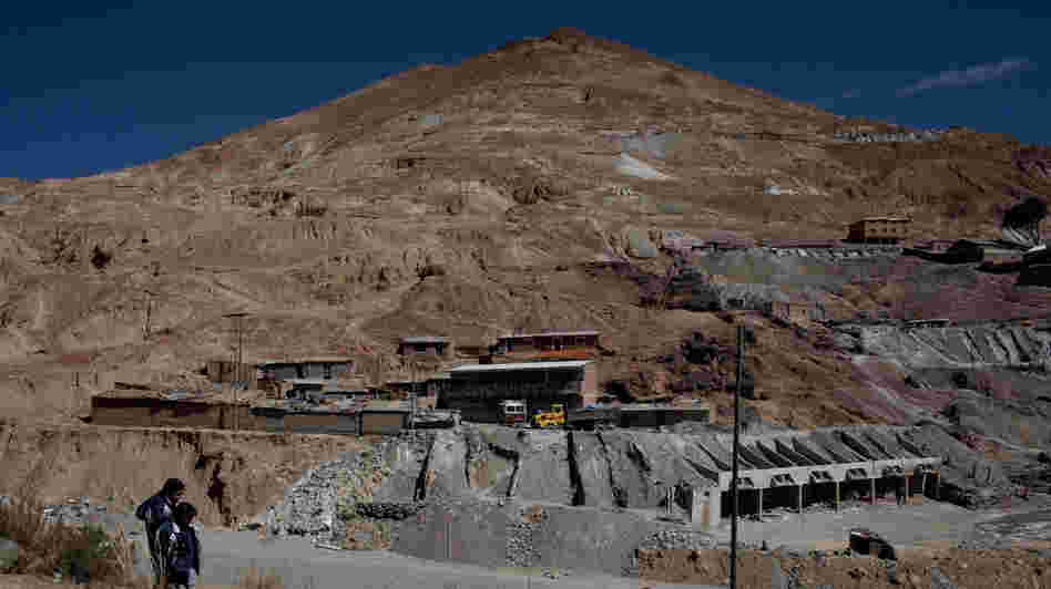 Cerro Rico, or Rich Mountain, rises like a monument in Potosi, Bolivia. It has produced silver, and hardship, for centuries. Now it may be in danger of collapse.