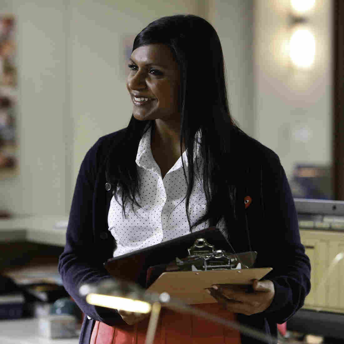 Mindy Kaling Loves Rom Coms (And Being The Boss)
