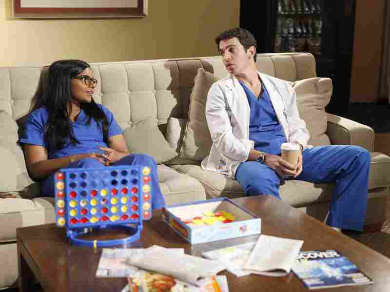 Danny (Chris Messina) and Mindy learn that medicine isn't all fun and games.