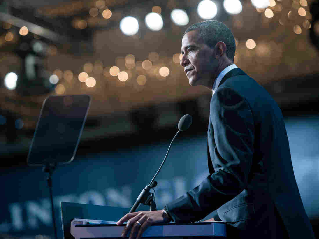President Obama talked of the world's need to crack down on human trafficking at the Clinton Global Initiative annual meeting in New York on Tuesday.
