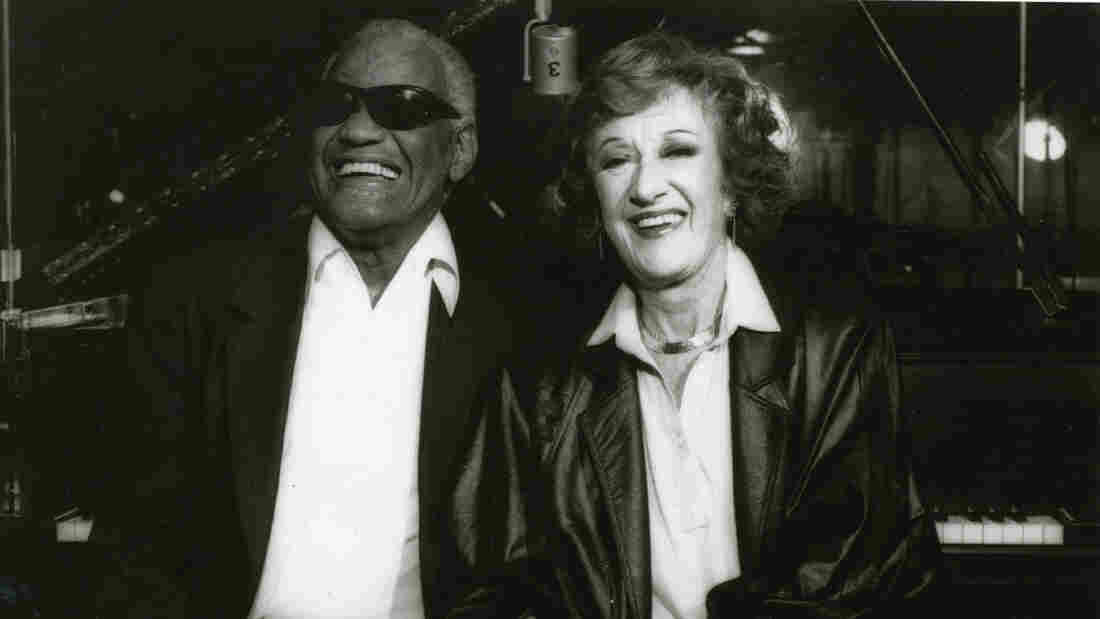 Ray Charles and Marian McPartland.
