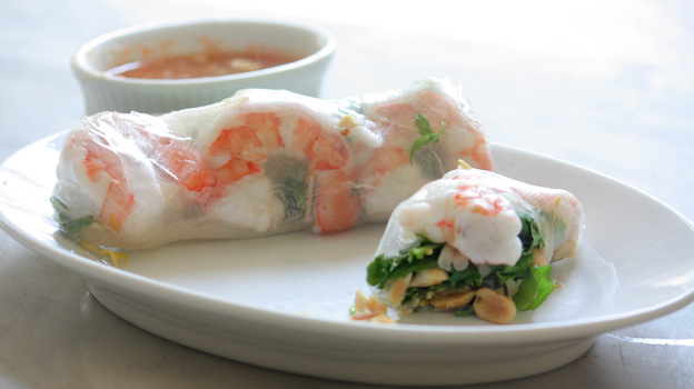 A Roll For All Seasons, Wrapped In Rice Paper