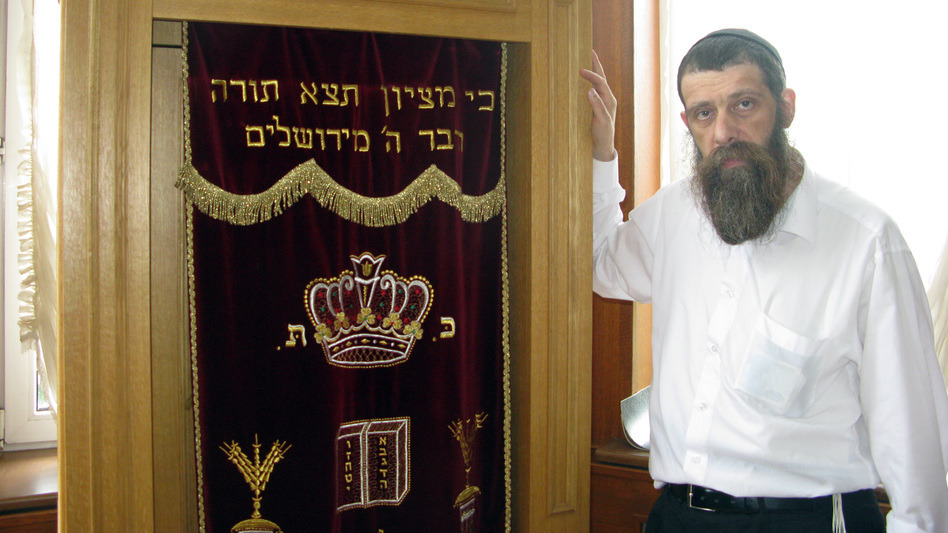 Dovid Karpov has been the rabbi at the Darkei Shalom synagogue since it was built 15 years ago. Like many people in his congregation, Karpov grew up in a Soviet-era family that was not religious. He says he had to learn his faith for himself. (NPR)