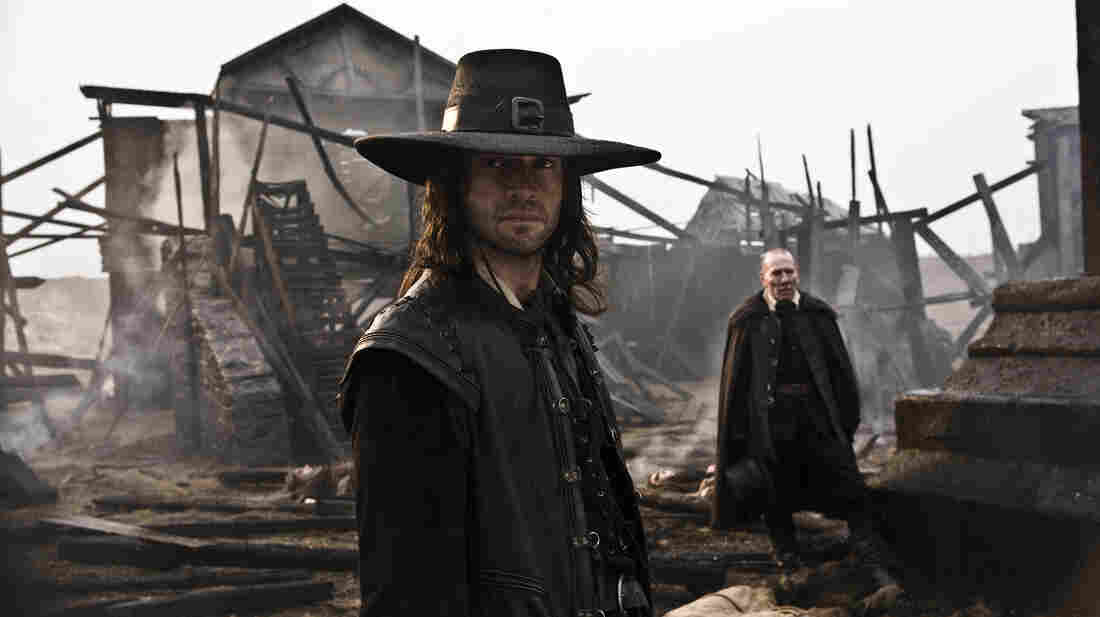 William Crowthorn (Pete Postlethwaite) and his Puritan family earn the respect of master warrior Solomon Kane (James Purefoy), the brooding antihero of a bleak comic-book adaptation.