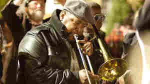 Antoine Batiste (Wendell Pierce) plays in a tribute to tuba player Kerwin James.