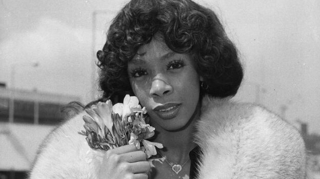 Donna Summer in 1976. YouTube's Chris Maxcy says the company targets advertising to videos by artists like her and gives a share of the revenue from it to the track's label and publisher. (Getty Images)