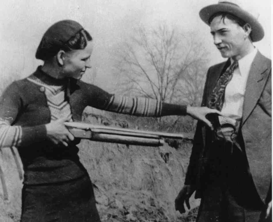 Clyde Barrow and Bonnie Parker Death